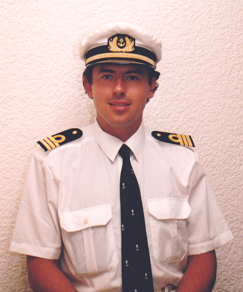 Michael Alexander Grandits, Master and Chief enginieer officer of merchant marine ships